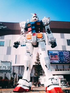 Gundam at Divercity Tokto Plaza