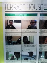 Terrace house program at Fuji TV