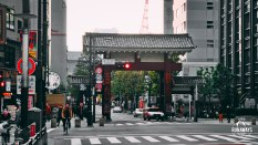Gate to Tokyo Tower